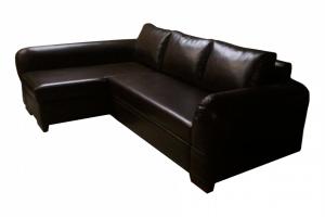Угловой диван кожаный Лорд - Мебельная фабрика «Джамбек-мебель»