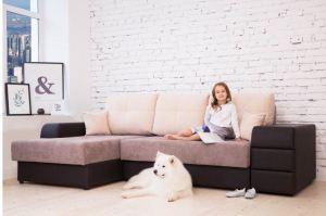 Угловой диван Левел 2+От+ПШ - Мебельная фабрика «Аврора», г. Пермь