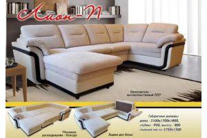 Угловой диван Лион П - Мебельная фабрика «Новый Стиль»