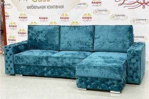 Угловой диван Лофт с каретной стяжкой - Мебельная фабрика «Амарас»