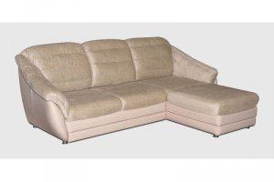 Угловой диван Лора 10 с оттоманкой - Мебельная фабрика «Софалэнд»