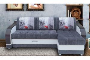 Угловой диван Мадрид 1 - Мебельная фабрика «МИР ДИВАНОВ»