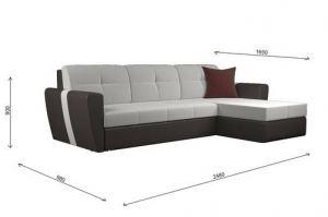 Угловой диван Мадрид лофт lux cvadro - Мебельная фабрика «ГОСТМебель»