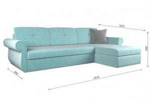 Угловой диван Мадрид ретро lux cvadro - Мебельная фабрика «ГОСТМебель»
