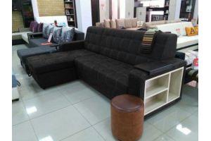 Угловой диван Мадрид с оттоманкой - Мебельная фабрика «Донской стиль»