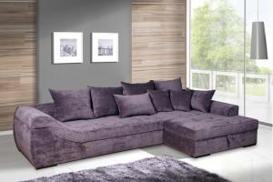 Угловой диван Меган-лайф со спальным местом - Мебельная фабрика «Mebelit»