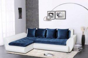 Угловой диван Меган с подлокотниками - Мебельная фабрика «Mebelit»