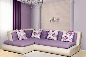 Угловой диван Меган со спинкой - Мебельная фабрика «Mebelit»