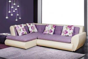 Угловой диван Меган со спинкой и подлокотником - Мебельная фабрика «Mebelit»