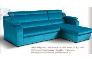 Угловой диван Милан дельфин - Мебельная фабрика «Евростиль»