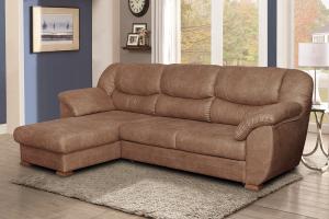 Угловой диван Ника с оттоманкой - Мебельная фабрика «Идиллия»