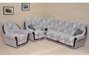 Угловой диван Полонез с Креслом - Мебельная фабрика «Slav-MEBEL»