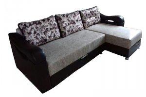 Угловой диван Радуга с канапе - Мебельная фабрика «Радуга»
