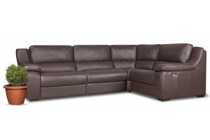 Угловой диван-реклайнер Alessandro - Мебельная фабрика «Ангажемент»