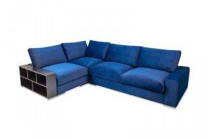 Угловой диван Ричард с боковыми полками - Мебельная фабрика «Мануфактура уюта (DreamPark)»