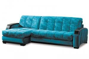 угловой диван Ронни с маленькой оттоманкой - Мебельная фабрика «Аллегро-Классика»