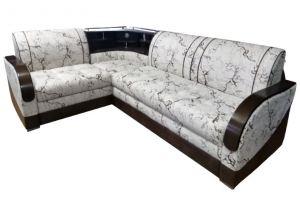 Угловой диван с баром Мадрид 2 - Мебельная фабрика «Фортуна плюс»