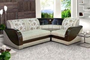 Угловой диван с баром Модерн 3 - Мебельная фабрика «Барокко»
