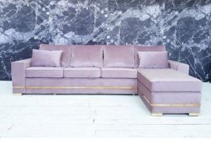 Угловой диван с французской раскладушкой - Мебельная фабрика «Палитра»