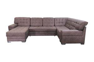 Угловой диван с оттоманкой Инфинити - Мебельная фабрика «Диван Дома»