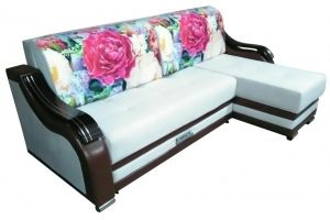 Угловой диван с оттоманкой Мечта - Мебельная фабрика «Фортуна плюс»