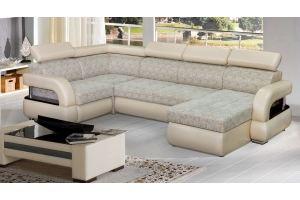Угловой диван с оттоманкой Милан П - Мебельная фабрика «Катрина»