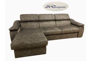 Угловой диван с оттоманкой Уют 2 - Мебельная фабрика «Жемчужина»