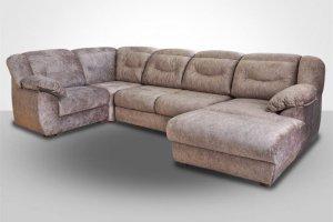Угловой диван с оттоманкой Вегас 2 - Мебельная фабрика «Славянская мебель»