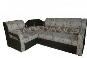 Угловой диван с полкой Радуга - Мебельная фабрика «Радуга»
