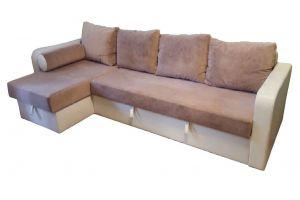 Угловой диван с валиком Вера - Мебельная фабрика «Радуга»