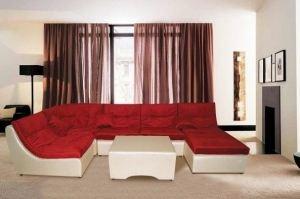 Угловой диван Сафари со столиком - Мебельная фабрика «Estetica»