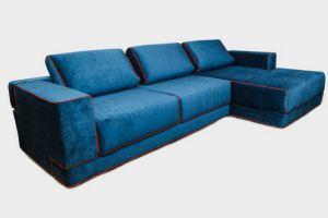 Угловой диван Синий - Мебельная фабрика «Furniture Design»