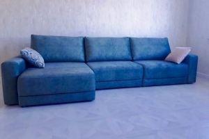 Угловой диван Синий - Мебельная фабрика «Данила Мастер»