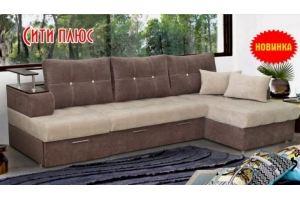 Угловой диван Сити Плюс - Мебельная фабрика «Барокко»