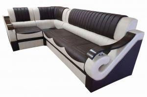 Угловой диван со столиком - Мебельная фабрика «Лора»