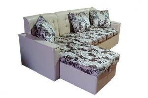 Угловой диван со стразами - Мебельная фабрика «Комфорт»