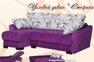 Угловой диван Стефани - Мебельная фабрика «Магеллан Мебель»