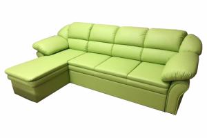 Угловой диван Люкс-2 в экокоже - Мебельная фабрика «ИП Такшеев»