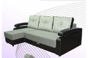Угловой диван Виктория Тик-так - Мебельная фабрика «Аметист-М»