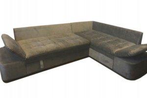 Угловой диван Вирджиния-1 с механизмом трещотка - Мебельная фабрика «Карина»