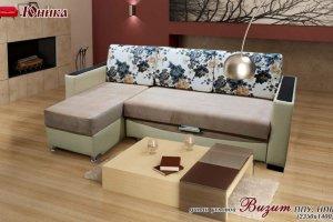 Угловой диван Визит - Мебельная фабрика «МК Юника»
