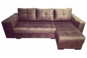 Угловой диван Зевс с ящиками в подлокотнике - Мебельная фабрика «ДарВик»