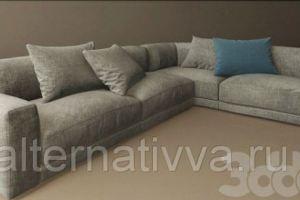 Угловой диванALDES 22 - Мебельная фабрика «Alternativa Design», г. Самара