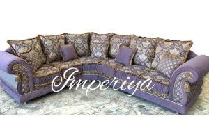 Угловой элитный диван Энтони - Мебельная фабрика «Империя»