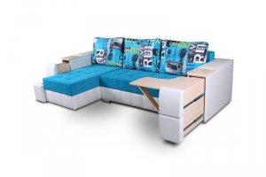 Угловой фунциональный диван Бруклин  - Мебельная фабрика «DiArt», г. Ижевск