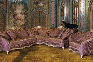 Угловой классический диван Лель - Мебельная фабрика «Макси Торг Лель»