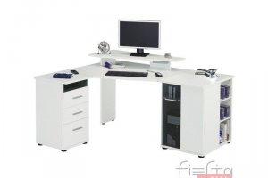 Угловой компьютерный стол 23 - Мебельная фабрика «Фиеста-мебель»