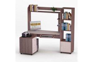 Угловой компьютерный стол 69 - Мебельная фабрика «Фиеста-мебель»