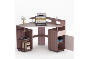 Угловой компьютерный стол 73 - Мебельная фабрика «Фиеста-мебель»