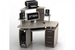 Компьютерный стол КС-12У Ибис - Мебельная фабрика «Ная»